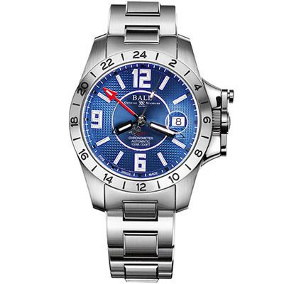 BALL Engineer GMT天文台認證機械腕錶-藍色/40mm