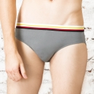 MG-DAYNEER-時尚貼身運動感印花三角褲(百搭灰)