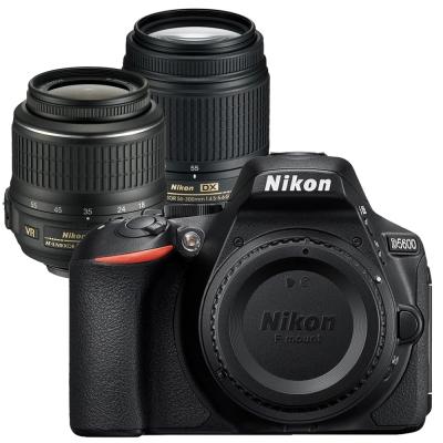 [快] Nikon D5600+18-55mm+55-300mmVR 雙鏡組(平輸中文)