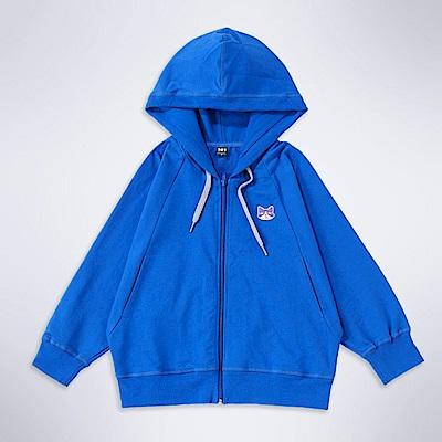 101原創 設計款連帽外套-寶藍