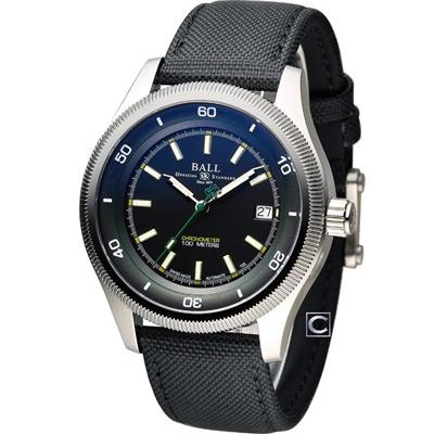 BALL Engineer II 天文台認證機械腕錶-黑/42mm