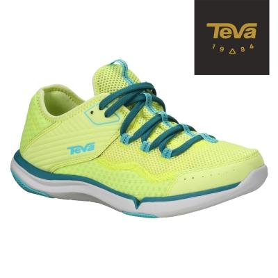 TEVA-美國-Refugio-女-多功能輕旅鞋-萊姆黃