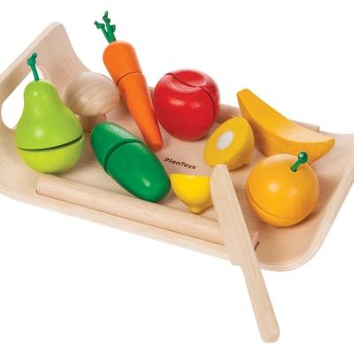 GMP BABY PLANTOYS綜合蔬菜水國盤1組