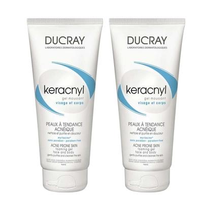 DUCRAY護蕾-淨化毛孔潔膚凝膠200mlx2