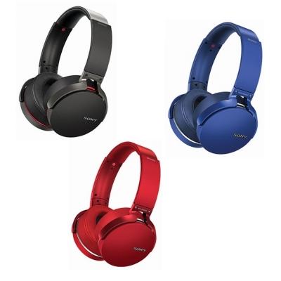 SONY 重低音頭戴式藍牙耳機MDR-XB950B1