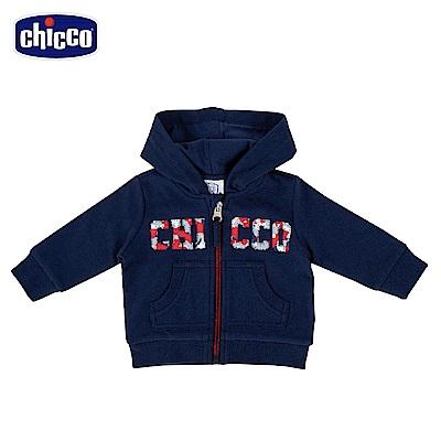 chicco-To Be Baby-連帽外套-青(12個月-4歲)