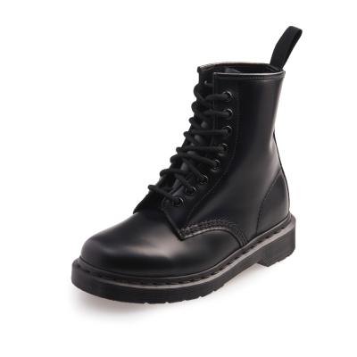 Dr.Martens-經典1460 MONO 8孔真皮馬汀靴-女款-黑