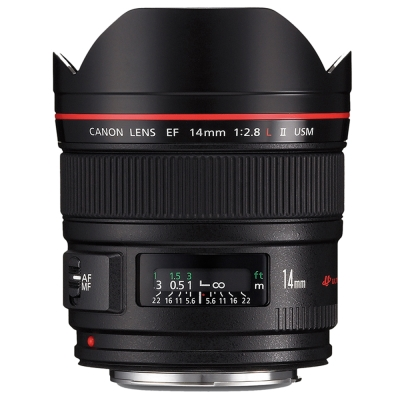 Canon EF 14mm f/2.8L II USM 超廣角定焦鏡頭(公司貨)吹球拭筆組