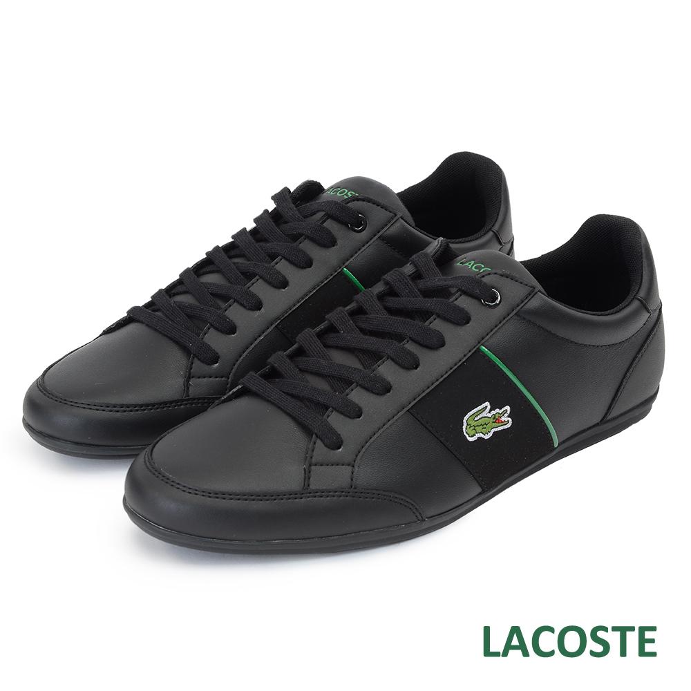LACOSTE 男用休閒鞋-黑