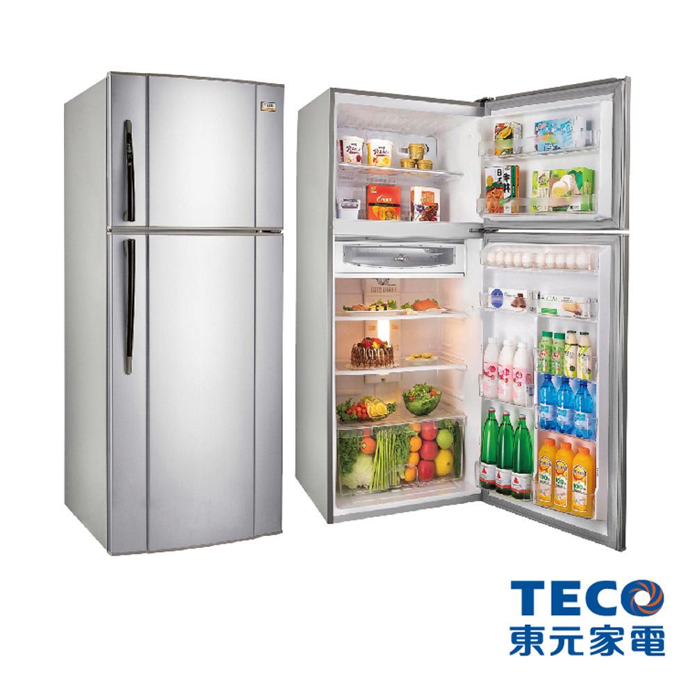 TECO東元 508公升變頻雙門冰箱 R5161XK/P(琉璃金 )