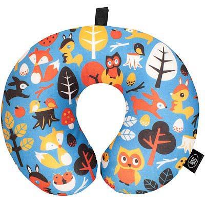 DQ 緩衝顆粒護頸枕(動物森林)