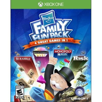 孩之寶家庭歡樂包 Hasbro Family Fun Pack-XBOX ONE英文美版