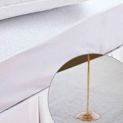 義大利La Belle 防蹣抗菌透氣防水-毛巾布包覆式保潔墊 -- 單人