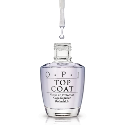OPI Top Coat 亮麗保色護甲油15ml(NTT30)