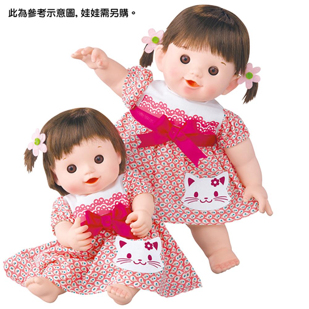 POPO-CHAN配件-POPO-CHAN蝴蝶結小貓洋裝組合(2Y+)
