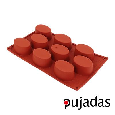 西班牙pujadas矽膠9格點心膜(橢圓型)