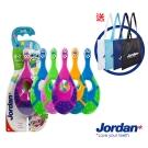 Jordan兒童牙刷6入組(0-2歲)