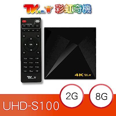 喬帝Lantic 彩虹奇機 S 100   追劇 4 K智慧電視盒