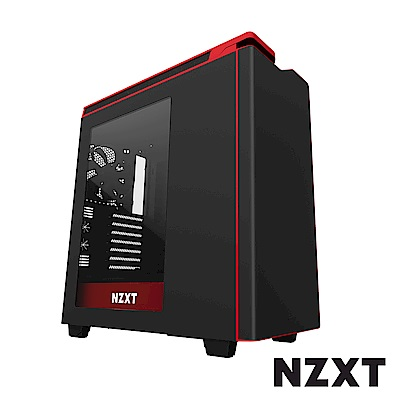 【NZXT】H440 Plus 電腦機殼 黑紅色