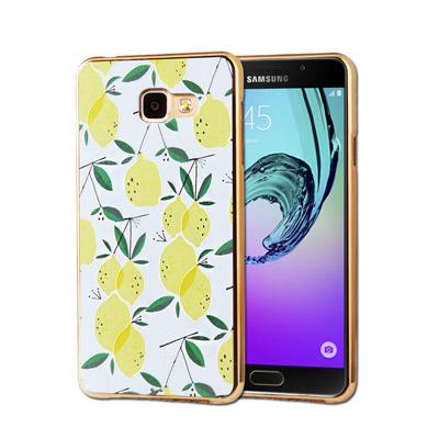 VXTRA Samsung Galaxy A7(2016) 電鍍浮雕彩繪手機殼(...