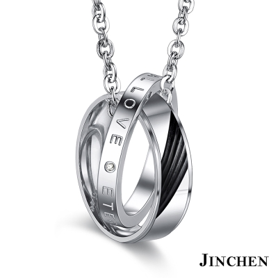 JINCHEN 情有獨鍾 情侶項鍊
