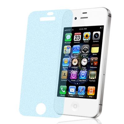 Apple iPhone 4S 一指無紋抗刮霧面螢幕貼(二入)