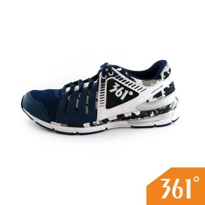 361男運動常規綜訓鞋-深藍/白