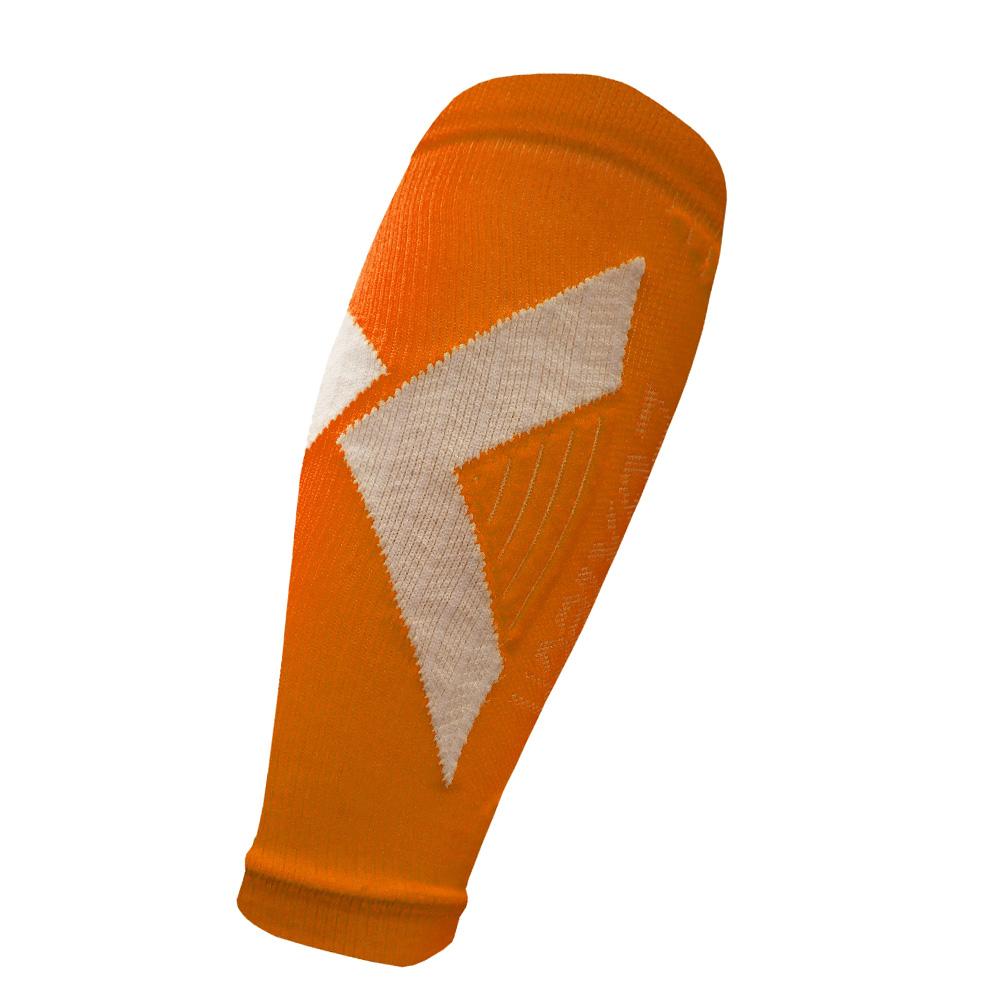 EGXtech CCS-1 分段加壓運動小腿套(橘/白)1雙
