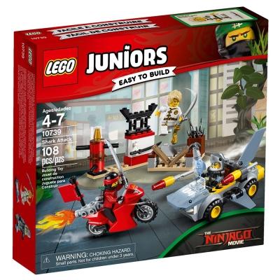 LEGO樂高 Juniors系列 10739 樂高旋風忍者電影 鯊魚襲擊
