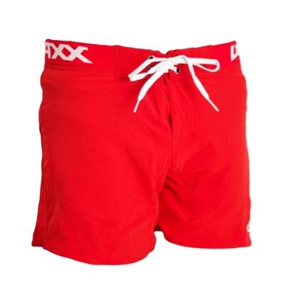 WAXX 紅色基本款 高質感吸濕排汗男性海灘短褲