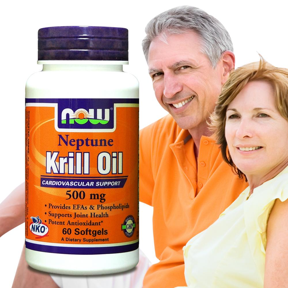 《NOW健而婷》專利南極蝦精 (NKO磷蝦油) (60顆/瓶)