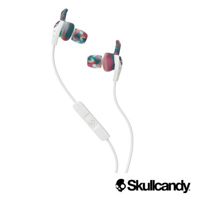 Skullcandy 骷髏糖 XT PLYO 運動型入耳式耳機-白+彩虹色(公司貨)