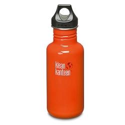 美國Klean Kanteen不鏽鋼瓶532ml-火燄橘