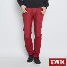 EDWIN 大尺碼AB褲 503JERSEYS迦績色褲-男-紅色