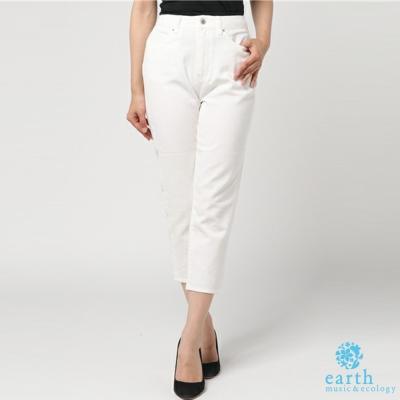 earth-music-俐落剪裁直筒牛仔褲