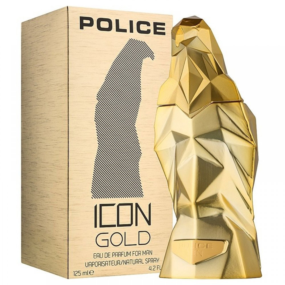 Police ICON Gold 黃金聖鷹男性淡香精 125ml