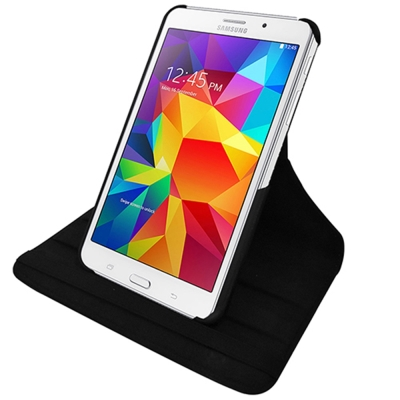 三星 Galaxy Tab4 7.0 T2397 旋轉式【皮套+保護貼組】