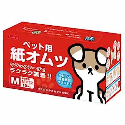inuneru 幫狗適免洗尿褲-魔鬼沾款 M號 三包組