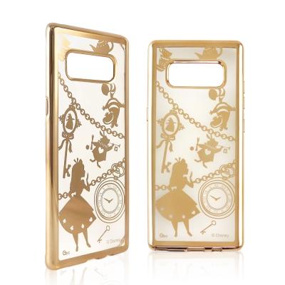 Disney迪士尼 三星Galaxy Note8時尚質感電鍍保護套-鎖鏈系列 愛...
