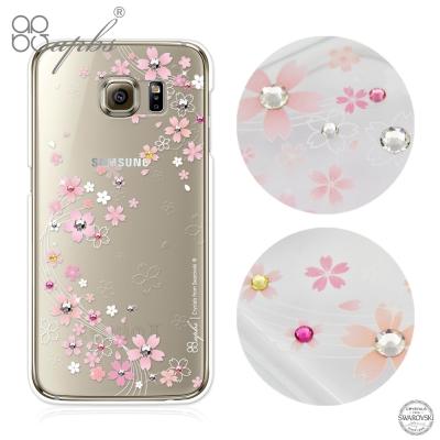 apbs Samsung Galaxy S6 edge 施華洛世奇彩鑽手機殼-天籟之櫻