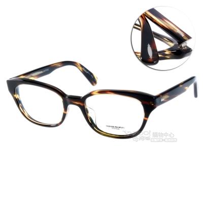 OLIVER PEOPLES眼鏡 好萊塢星鏡/琥珀黑#MICHAELA 1003