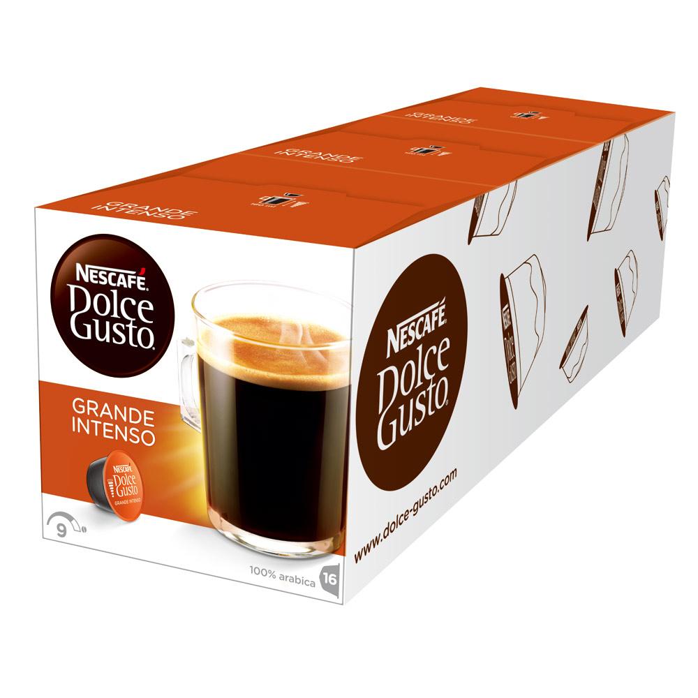 雀巢咖啡 DOLCE GUSTO 美式醇郁濃烈咖啡膠囊