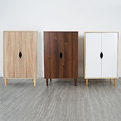 Homelike 瑞希置物櫃(三色可選)-60x40x97cm