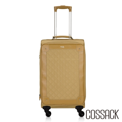 Cossack ELEGANCE優雅23吋可放大行李箱駝色