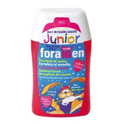 西班牙Foramen <b>2</b>合1濃縮牙膏漱口水100ml/120g(兒童)