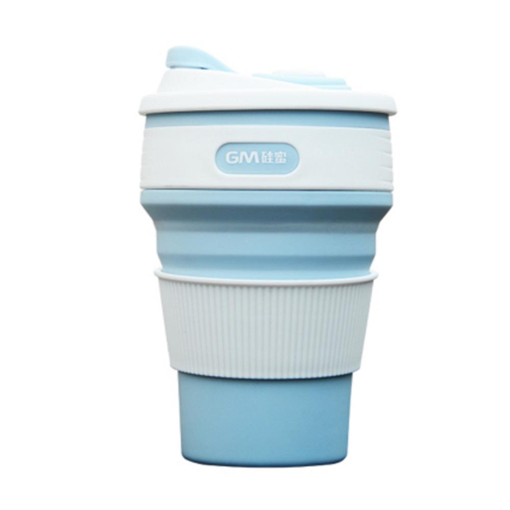 PUSH! 戶外休閒用品折疊杯子旅行杯子便攜咖啡杯冷泡茶杯隨手杯350ML