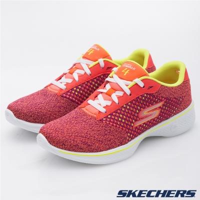 SKECHERS-女-健走系列-GO-Walk-4-14146PKLM