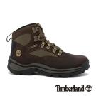 Timberland 女款深咖啡防水厚底中筒鞋