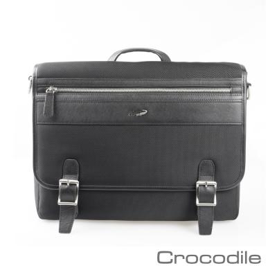 Crocodile Wind 系列橫式公事包 0104-600501