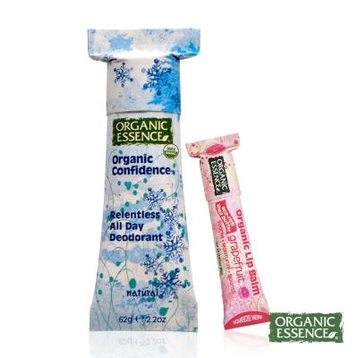 Organic Essence 美國環保體香膏 有機原味 贈護唇膏
